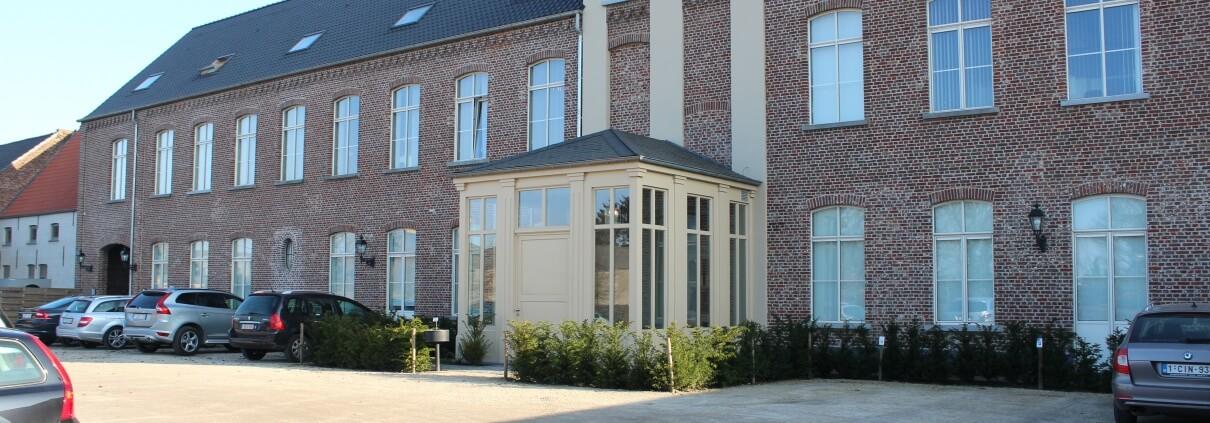 Hoofdkwartier van Xpower België gelegen in Beervelde