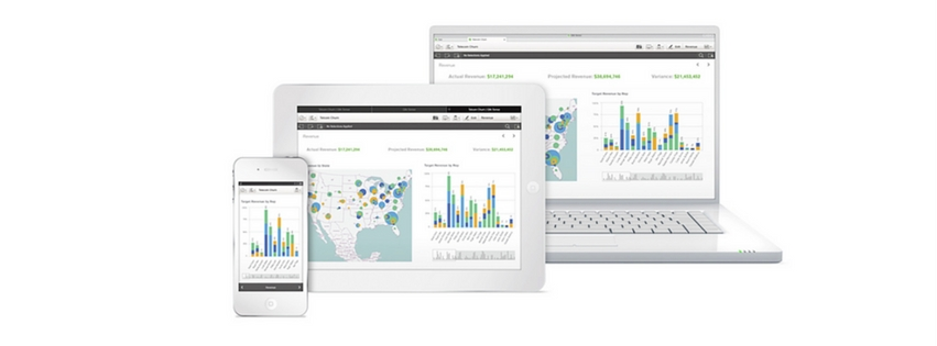 Business Intelligence is compatibel op multiple devices