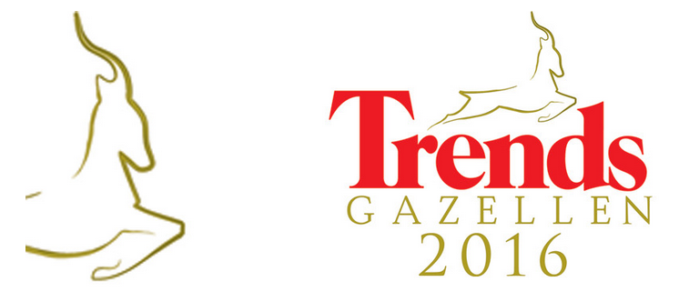 Logo nominatie Trends Gazellen 2016