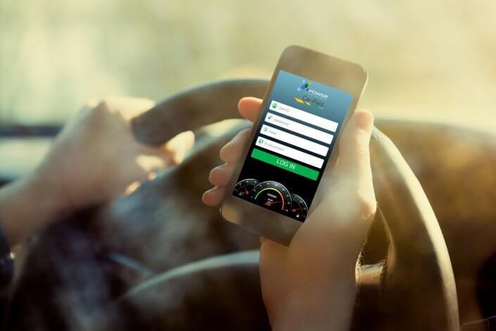 Car-pass applicatie voor meten kilometerstanden